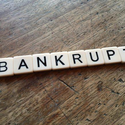 bankrupt lost